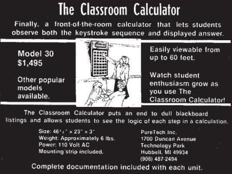 Classroom Calculator