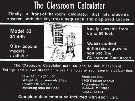 Classroom Calculator