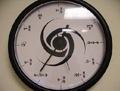 mathclock